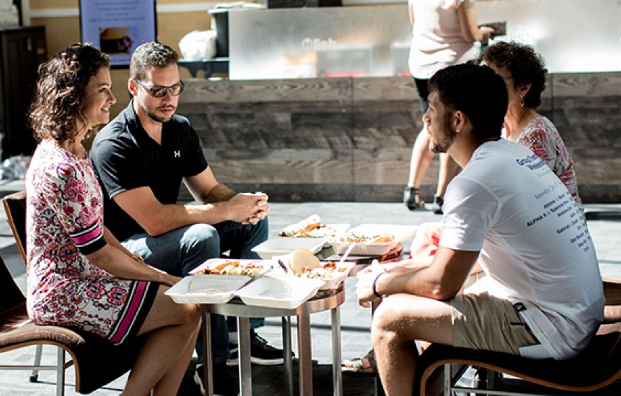 Take your team out to lunch without leaving the office
